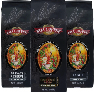Dark Roast Whole Bean Kona Coffee
