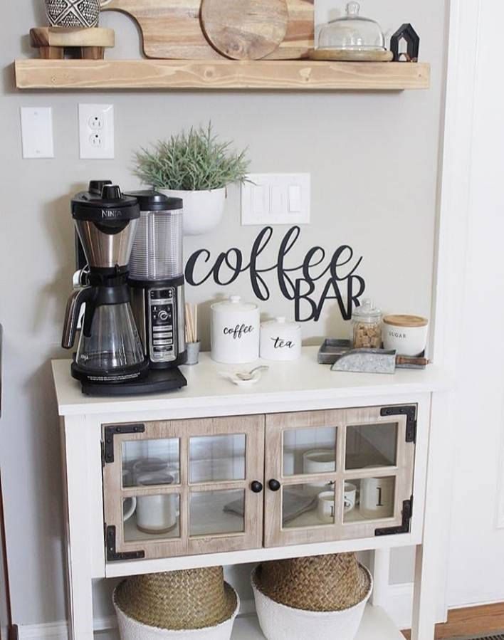 Turn a Desk into a Coffee Space2